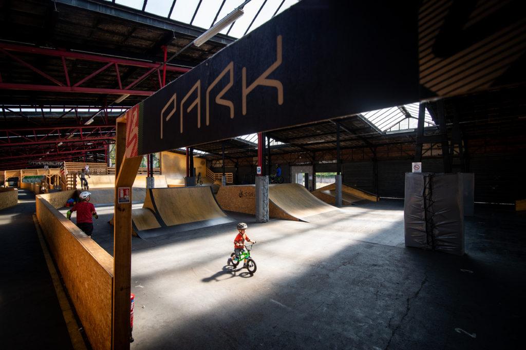 Bike Park Indoor à Strasbourg